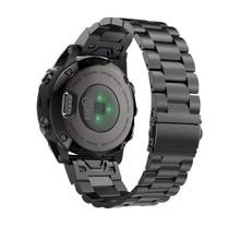 Fenix 6S Metall Armband 20mm Edelstahl Metall QuickFit Uhr Band Strap für Garmin Fenix 5 S/ 5S Plus Ersatz Armband