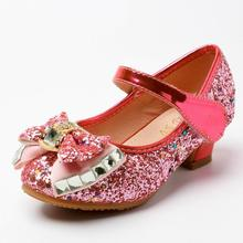 Kids Leather Shoes Girls Wedding Dress Shoes