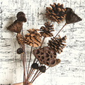 5PCs Natürliche Getrocknete Kiefer Kegel Acorn Blumen Für Home Dekoration Künstliche Blume Girlande Kranz Hochzeit DIY Decor