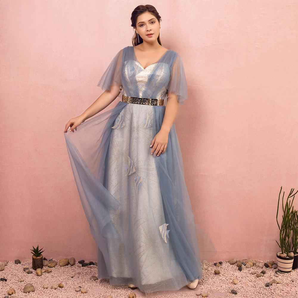 Evening Dresses 2019 Fashion A-line Sweetheart Natural Floor-length Llusion Lace-up Party Gown
