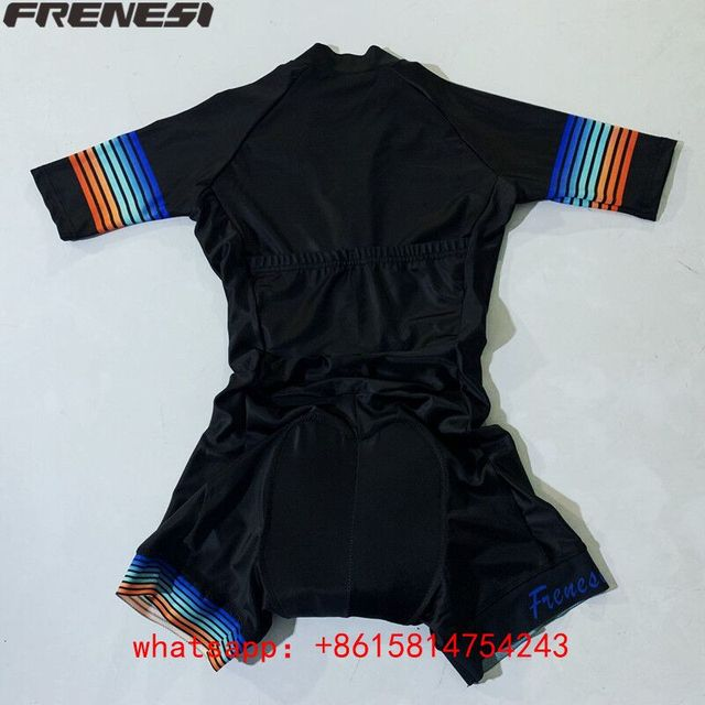 Fresi aero terno triathlon triathlon terno de corrida ao ar livre terno ciclismo skinsuit pro equipe feminino macacão triatlon hombre kit 3