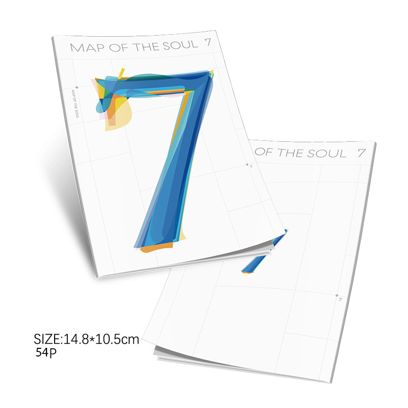Hot KPOP Card Bangtan Boys MAP OF THE SOUL : 7 Mini Photo Postcard Collection Photocard