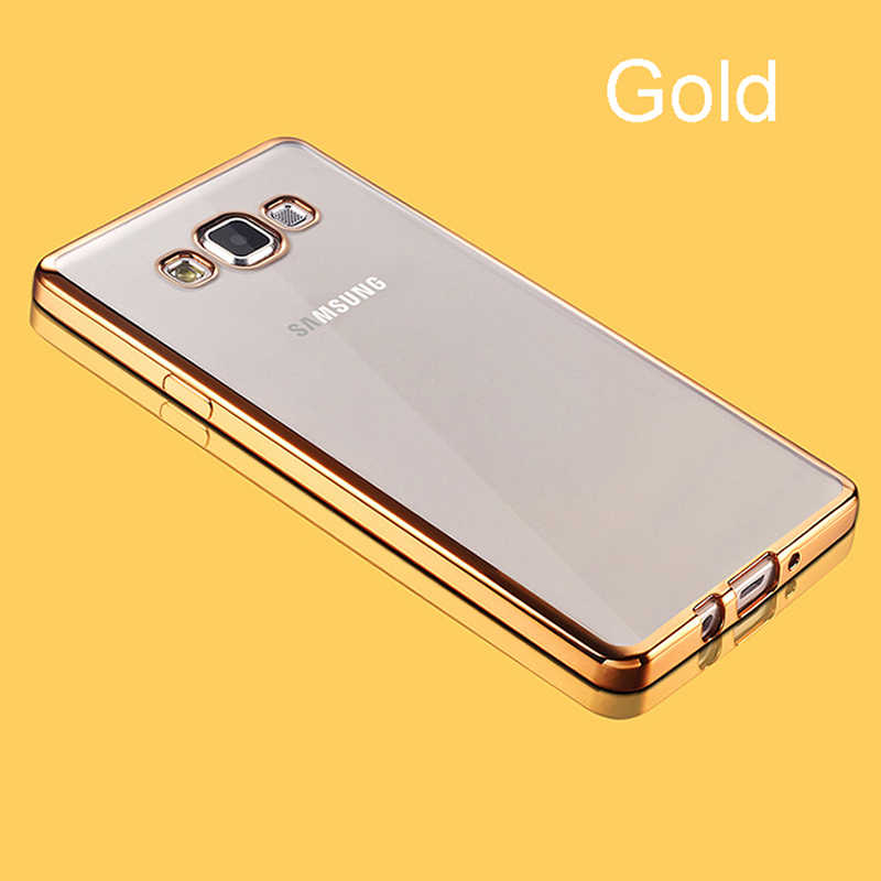 Luxus Silikon Soft Clear Fall Für Samsung Galaxy S6 S7 Rand S8 S9 S10 Plus E Hinweis 8 9 10 pro M10 M20 M30 auf Handy Abdeckung