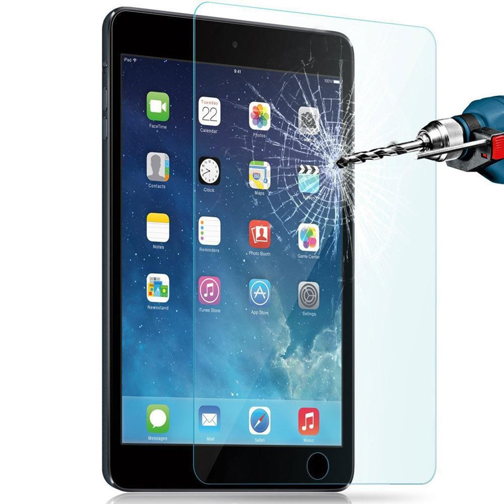 Tempered Glass Screen Protect For IPad 2 3 4 5th 6th Air Mini 7.9 Pro 9.7 10.5