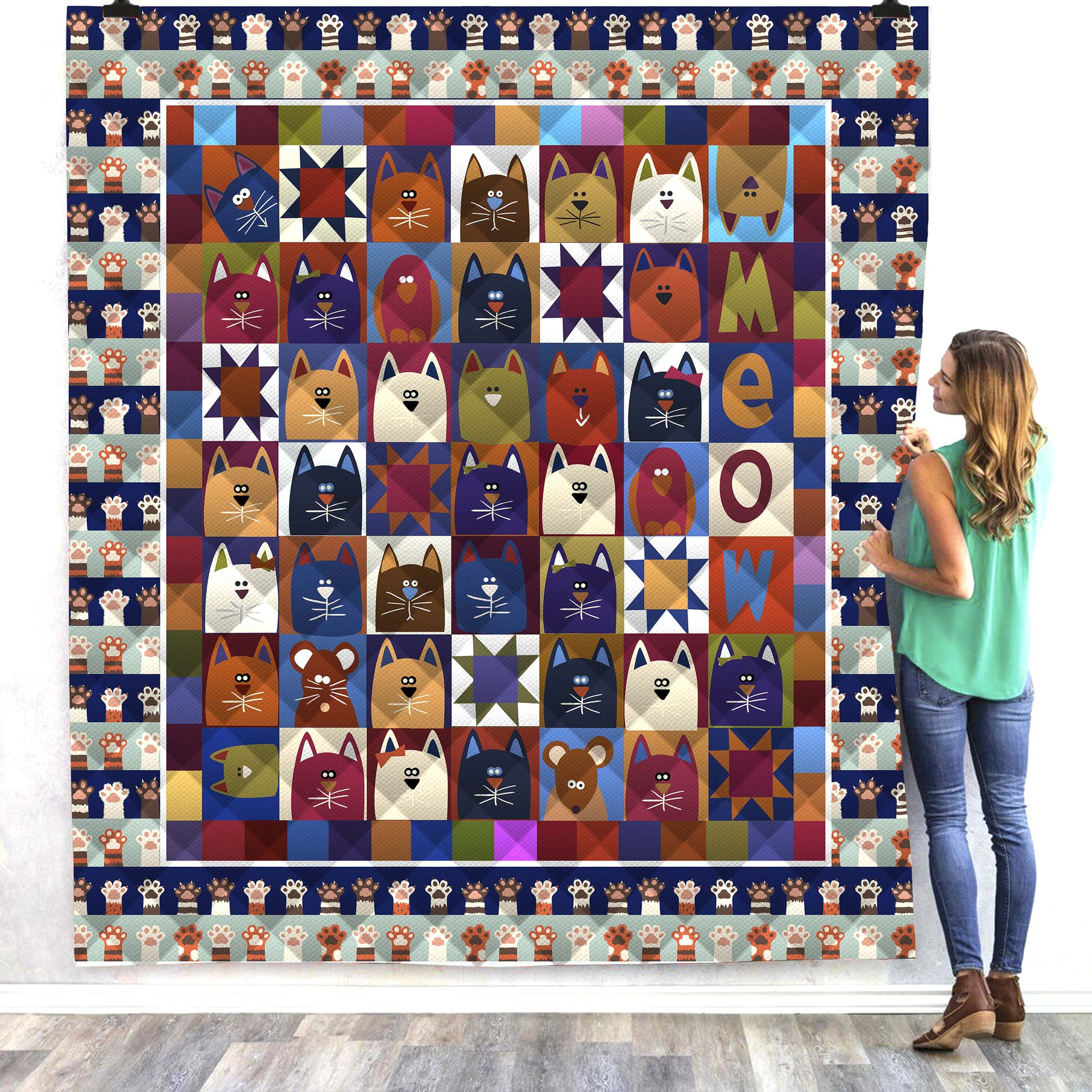 Halloween Cat Cute 3d Printed Quilt Blanket Kids Adults Bedding Throw Soft Warm Thin Office Blanket With Cotton Quilt Style-2 Rich And Magnificent