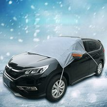 Car Windshield Cover Sun Shade Protector Winter Snow Protector Snow Ice Rain Dust For Front Windshield(China)