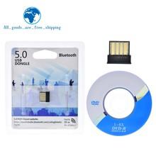 USB Bluetooth Adapter BT 5,0 USB Drahtlose Computer Adapter Audio Receiver Transmitter Dongles Laptop Kopfhörer BLE Mini Sender