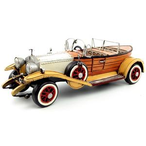 Image 3 - Antique classical British car model retro vintage wrought  metal crafts for home/pub/cafe decoration or birthday gift