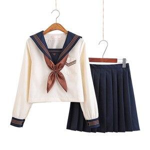 Japonês escola vestidos jk uniformes damasco marinheiro terno anime forma plissado saia uniforme vestido para o ensino médio meninas estudantes