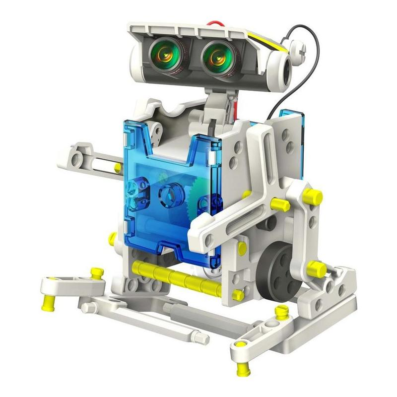 13 in 1 robot DIY technology machinery small production invention electric science educational toys assembled solar energy