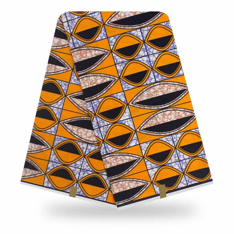 New Guaranteed Real Wax Wax Block Prints In Original Wax 100% Cotton Veritable Wax Veritable African Ankara Fabric
