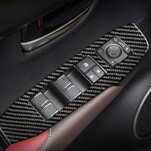 Glass lifting panel decorative carbon fiber sticker for Lexus NX 200 200t 300h 57BA(China)