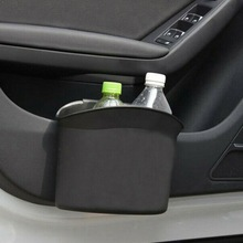 Car Trash Can Organizer Automobile Side Door Trash Paper Storage Drink Car Bottle Garbage Dustbin Tidying Car Holder Bin Bi X9S3