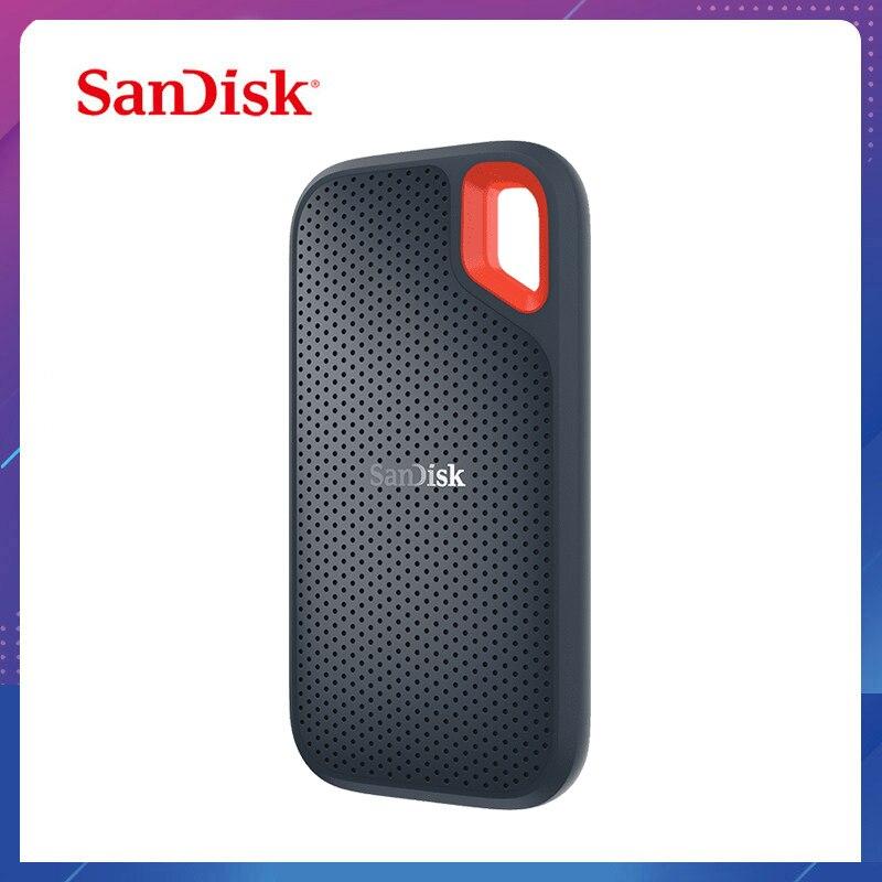 SanDisk Extreme Portable SSD de 1TB 500GB 550M externo Disco Duro SSD USB 3,1 HD Disco Duro SSD disco de estado sólido de 250GB para ordenador portátil
