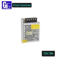 Full Power LED Transformer DC 12V 5A Power Supply For LED strip Light