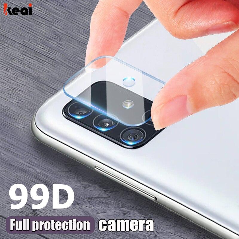 99D Protezione Dello Schermo Della Fotocamera Per Samsung Galaxy S20 Ultra fe S21 Note 20 Ultra S10E S10 S9 Più Lente Pellicola Per A51 A71 A10 A20 A50 a70 A40 In Vetro Temperato