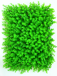 Image 3 - 40x60cm Artificial Green Plant Lawns Carpet for Home Garden Wall Landscaping Green Plastic Lawn Door Shop Backdrop Image Grass