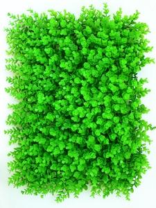 Image 3 - Tapete de plantas verdes artificiais 40x60cm, tapete para casa, jardim, parede, paisagem, plástico verde, gramado, porta, backdrop imagem grama