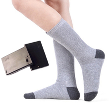 Thicken Warmer Socks Electric Heated Socks For Women Men Winter Cycling Skiing Outdoor Sport Heated Socks недорого