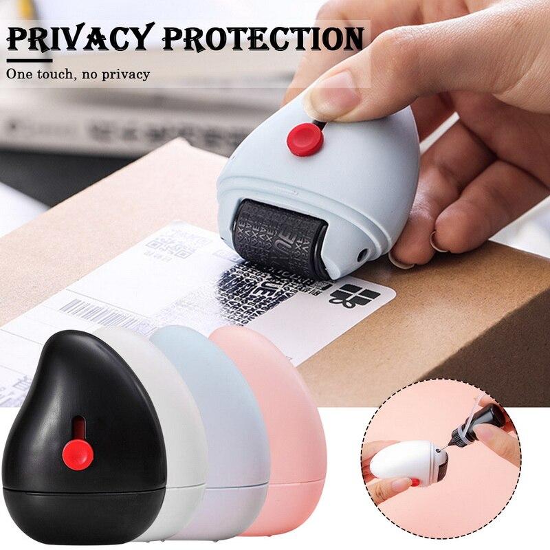 Противоугонные устройства роликовый штамп для конфиденциальности конфиденциальных данных на страже вашего печать безопасности ролик кон...