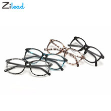 Zilead Korean Oversize Newest Glasses Frames Eyeglasses Frame Women Men Fake Plain Glasses Fashion Eyewear For Woman man Gafas(China)