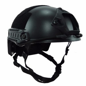 Image 2 - Tactical Bulletproof FAST Helmet NIJ Level IIIA 3A Aramid High Cut Ballistic Helmets ISO Certified Military Paintball Equipment
