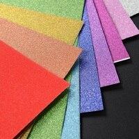 10 шт. 30x20 см блестящие бумажные листы ручной работы DIY Материал А4 бумажные картонные поделки флеш-золотая бумага для ручного творчества укра...