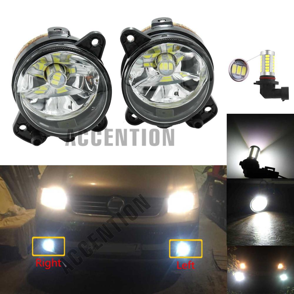 2Pcs For VW Jetta 5 MK5 2006-2011 H11 Front Halogen Fog Light And Wire