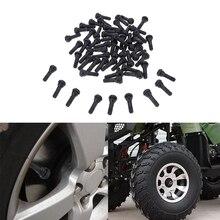 100pcs TR413 Rubber Car Tubeless Vacuum Snap in Tire Tyre Valve Stem