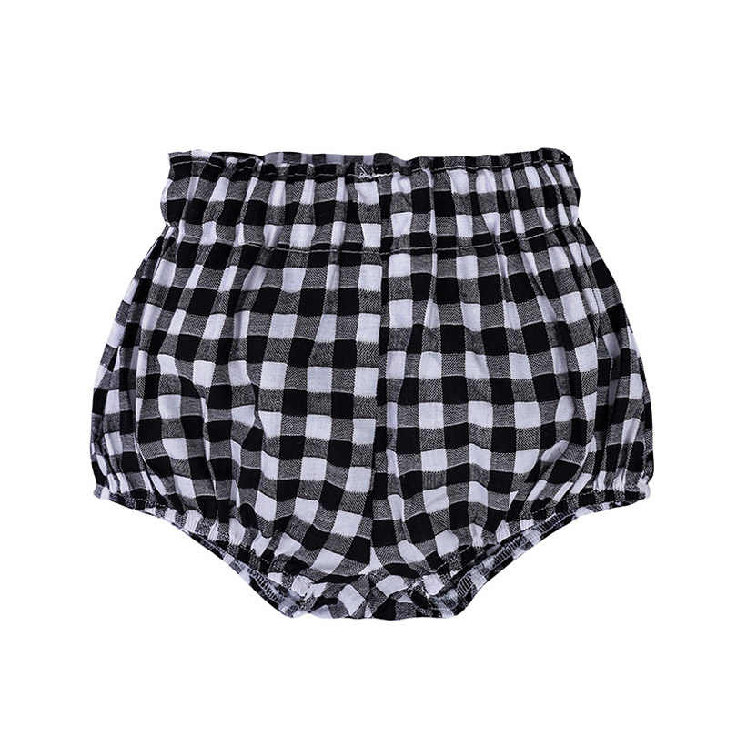 0-5Y Kawaii pololos para bebé pantalones cortos PP algodón Lino triángulo sólido Dot Girls Shorts verano pantalón Niño