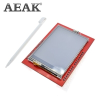 AEAK LCD 모듈 TFT 2.4 인치 TFT LCD 화면 ILI9341 드라이버 Arduino UNO R3 보드 및 지원 메가 2560