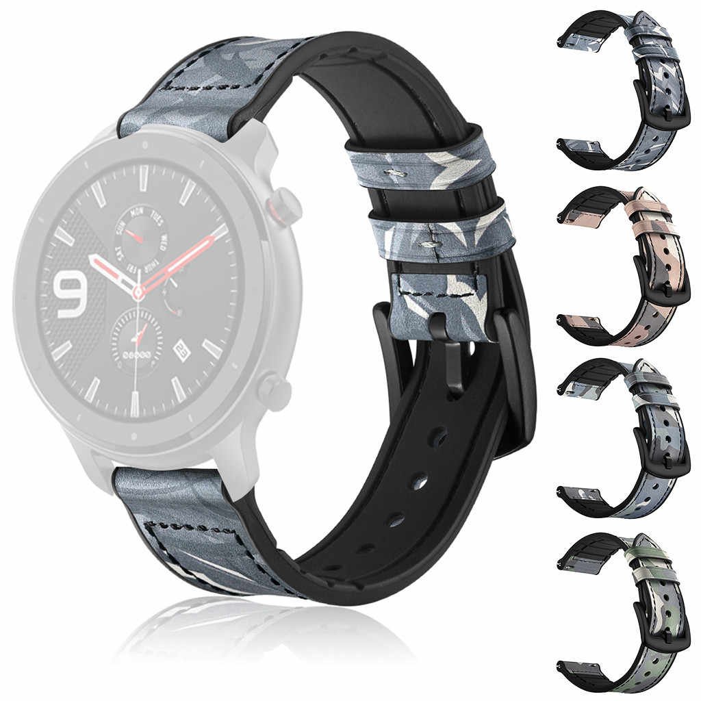 high quality hot sale Replacement Watch Wristband Leather Strap Band for AMAZFIT GTR Smart Watch 42MM Purchasing Direct sales