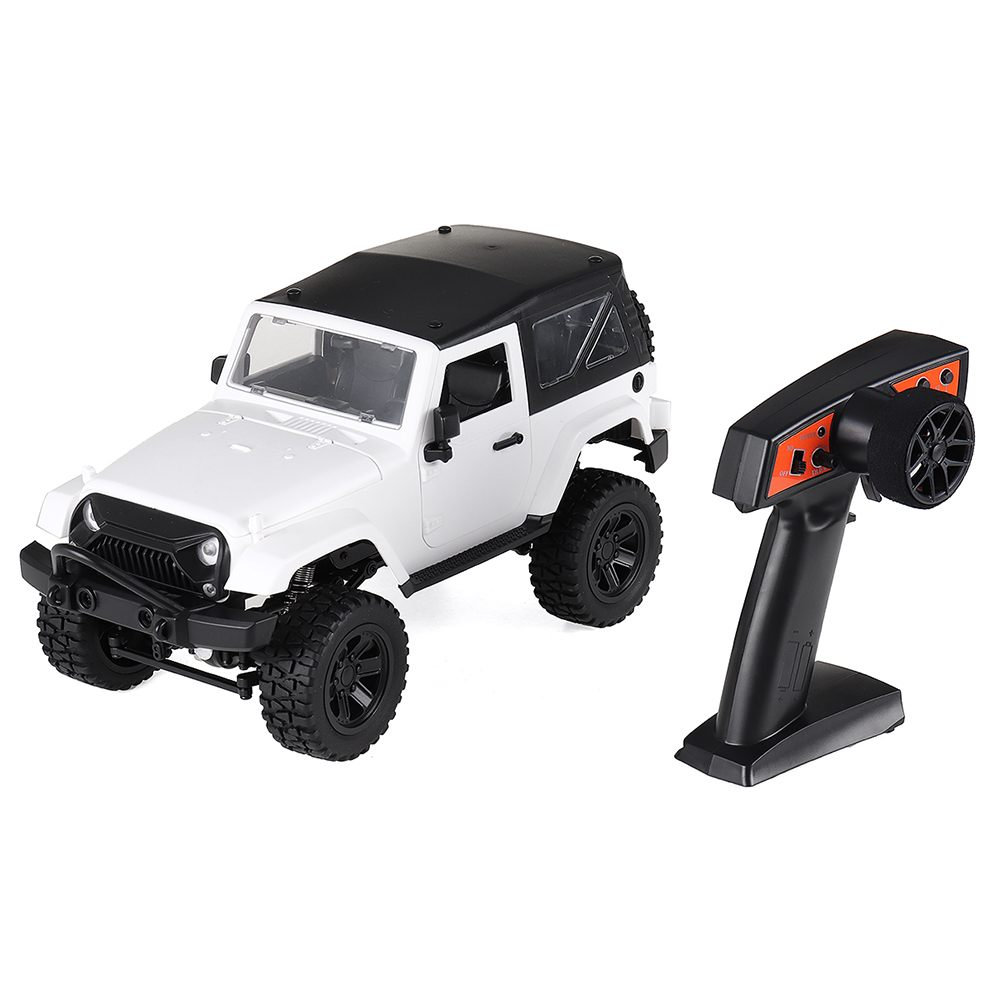 F1 F2 1/14 7.4V 500mAh battery 2.4G 4WD Remote Control RC Car for Jeep Off Road Vehicles with LED Light Climbing Truck RTR Model RC Cars    - AliExpress