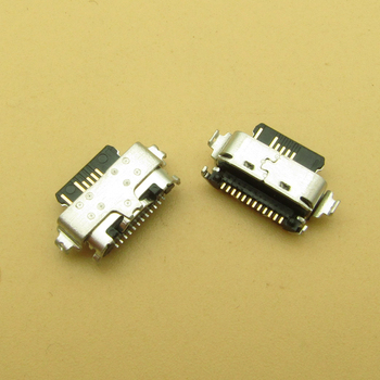 2pcs/lot For Alcatel 3X 2019 5048 5048A 5048U 5048Y Micro USB Jack Charging Socket Port Plug Dock Connector image