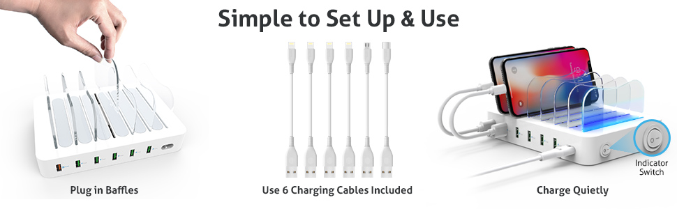 Devices, 3.0 Charging 6-Port 6