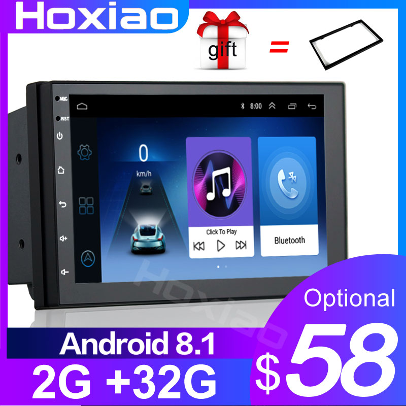 Auto Radio 2 Din Android GPS Navigation Car Radio Car Stereo 7