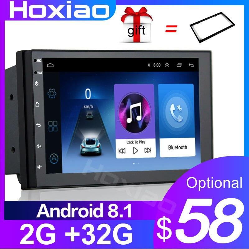 GPS Navigation Car-Player Multimedia Audio Auto-Radio Bluetooth Wifi 2-Din android USB