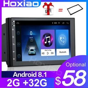 "Auto Radio 2 Din Android GPS Navigation Car Radio Car Stereo 7"" Wifi Bluetooth USB Audio 2DIN Universal Multimedia Car Player(China)"