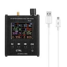 N1201SA 137.5 MHz 2.7 GHz Ăng Ten Phân Tích Đo Sóng Đứng Đo Ăng Ten Bút Thử RF Vector Trở Kháng Máy Phân Tích