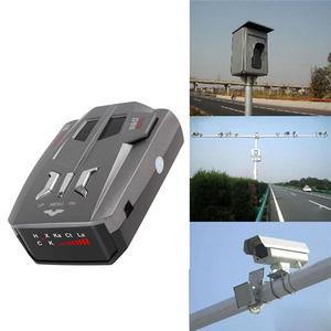 Vehicle-Radar-Detector Car-Speed Warning Voice-Alert English Russia 360-Degrees Led-Display