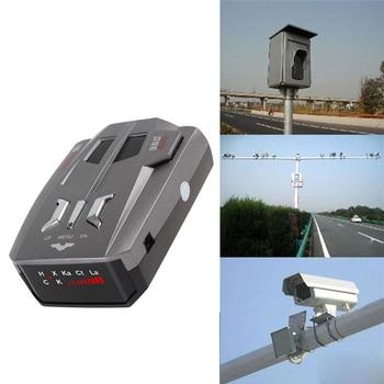 Car Electronics Vehicle Radar Detector Car Speed 360 Degrees Voice Alert Warning LED Display English/Russian       Detetor Radar