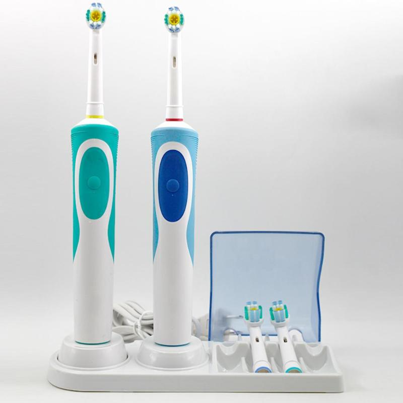 Oral B Electric Toothbrush Stand Support Holder Base With Charger Holder For Braun Teeth Brush Heads Case Home Bathroom Tools image
