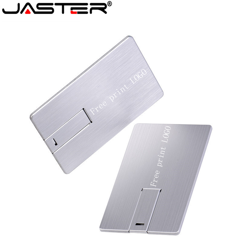JASTER USB 2.0 Usb Flash Drive 4GB 16GB 32G 64GB Metal Memory Card Pendrive Stick Gifts Pen Drive (over 10 Pcs Free Logo)