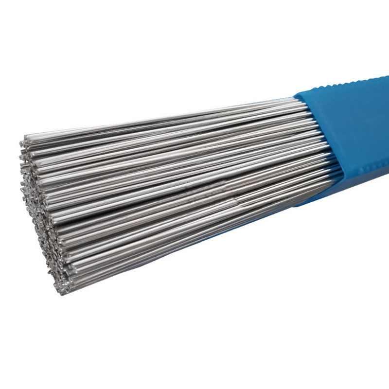 Barra de soldadura de brazo de aluminio con núcleo de soldadura de alambre de baja temperatura de 20/50/100 Uds. Caja de almacenamiento de paquetes de soldadura sin necesidad de polvo de 1,6/2MM