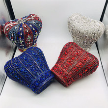 Crossbody-Bag Chain Evening-Bags Sequined Wedding-Party-Clutches Casual Women Ladies
