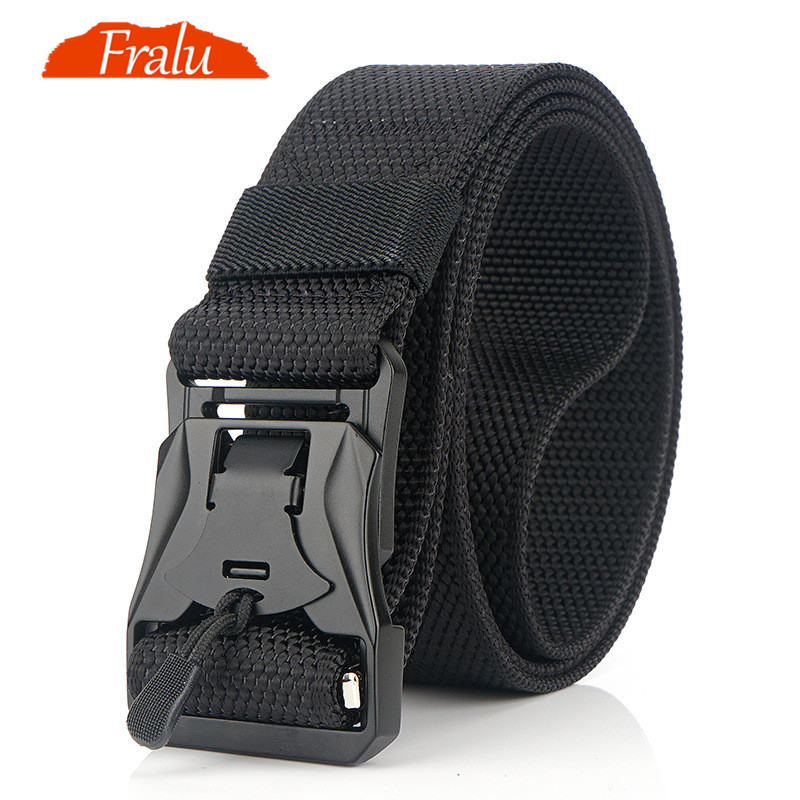 Leather Causal Durable Jeans Waist Pants Belts Male Cowhide Metal Buckle Men Str