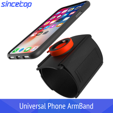 Universal Sports Armband for iPhone 11 X 8 7 Samsung Rotatable Wrist Running Sport Arm Band With Key Holder for 4-6 inch Phone rotatable running bag phone arm case waterproof armband sport wrist bag belt key holder pouch for samsung iphone 8 x 4 6 inch