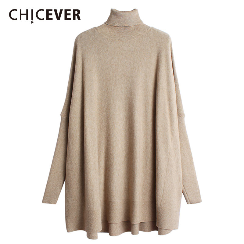 CHICEVER Spring Patchwork Ruffles Women's Dresses V Neck Petal Sleeve Loose Perspective Holiday Dress 2020 Fashion Clothes Tide