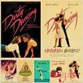 Постеры для Грязных танцев в винтажном стиле, крафт-бумага, Классический постер для фильмов, Декор для дома, бара, настенные украшения, худож...