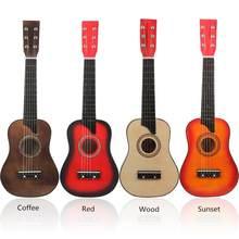 25 Polegada basswood guitarra acústica com pick strings para crianças e iniciante enviar presentes instrumento de cordas musicais quente